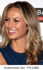 LOS ANGELES - MAR 8:  Stacy Keibler arrives at the Grand Opening Of Audi Beverly Hills Dealership at the Audi Beverly Hills  on March 8, 2012 in Beverly Hills, CA