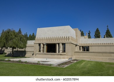 Los Angeles, MAR 9: The historical Hollyhock House on MAR 9, 2017 at Los Angeles, California