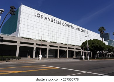 LOS ANGELES â?? MARCH 17: The Los Angeles Convention Center located in downtown Los Angeles, California on March 17, 2014. The LACC hosts major conventions, trade shows, meetings and special events.
