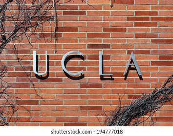 LOS ANGELES - MARCH 17: An entrance to The University of California, Los Angeles located in Westwood, Los Angeles, California on March 17, 2014. UCLA is a public research university founded in 1919.