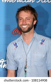 LOS ANGELES - MARCH  3: Paul McDonald arrives at the American Idol Season 10 FInalists Party at The Grove on March 3, 2011 in Los Angeles, CA