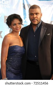 LOS ANGELES -  MARCH 4: Kimberly Elise, Tyler Perry arriving at the 42nd NAACP Image Awards at Shrine Auditorium on March 4, 2011 in Los Angeles, CA