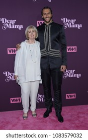 LOS ANGELES - MAY 03:  Colin Kaepernick and Teresa Kaepernick arrives for the VH1's 3rd Annual 'Dear Mama: A Love Letter to Moms' on May 3, 2018 in Los Angeles, CA