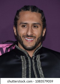LOS ANGELES - MAY 03:  Colin Kaepernick arrives for the VH1's 3rd Annual 'Dear Mama: A Love Letter to Moms' on May 3, 2018 in Los Angeles, CA