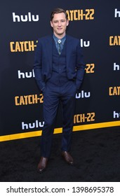 LOS ANGELES - MAY 07:  Lewis Pullman arrives for the Hulu's 'Catch-22' US. Premiere on May 07, 2019 in Hollywood, CA