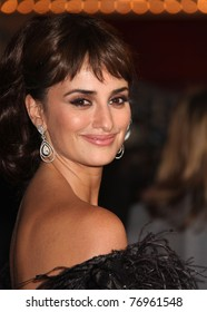 """LOS ANGELES - MAY 07:  Penelope Cruz arrives to the """"Pirates of the Caribbean: On Stranger Tides"""" World Premiere  on May 7, 2011 in Anaheim, CA"""