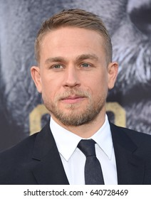 """LOS ANGELES - MAY 08:  Charlie Hunnam arrives for the 'King Arthur: Legend Of The Sword"""" World Premiere on May 8, 2017 in Hollywood, CA"""