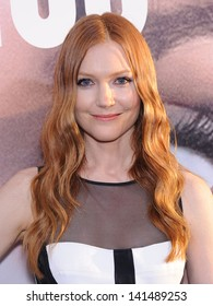 "LOS ANGELES - MAY 08:  Darby Stanchfield arrives to the ""Peeples"" World Premiere  on May 08, 2013 in Hollywood, CA"