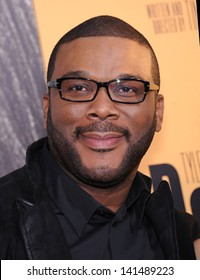 """LOS ANGELES - MAY 08:  Tyler Perry arrives to the """"Peeples"""" World Premiere  on May 08, 2013 in Hollywood, CA"""