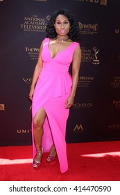 LOS ANGELES - MAY 1:  Angell Conwell at the 43rd Daytime Emmy Awards at the Westin Bonaventure Hotel  on May 1, 2016 in Los Angeles, CA