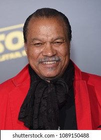 "LOS ANGELES - MAY 10:  Billy Dee Williams arrives to the ""Solo: A Star Wars Story"" World Premiere  on May 10, 2018 in Hollywood, CA"