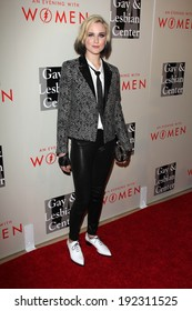 """LOS ANGELES - MAY 10:  Evan Rachel Wood at the L.A. Gay & Lesbian Center's """"An Evening With Women"""" at Beverly Hilton Hotel on May 10, 2014 in Beverly Hills, CA"""