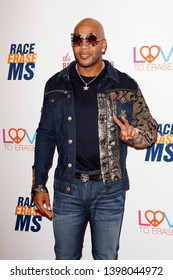 LOS ANGELES - MAY 10:  Flo Rida at the Race to Erase MS Gala at the Beverly Hilton Hotel on May 10, 2019 in Beverly Hills, CA