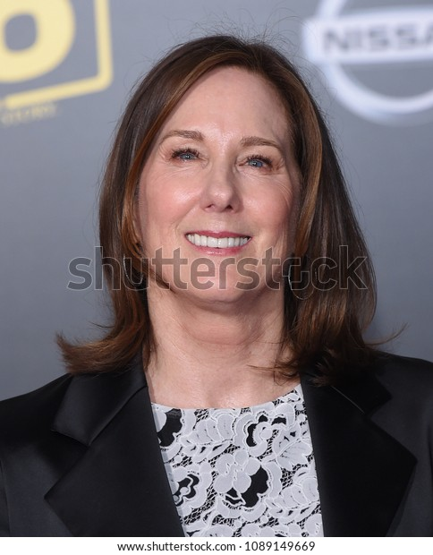 """LOS ANGELES - MAY 10:  Kathleen Kennedy arrives to the """"Solo: A Star Wars Story"""" World Premiere  on May 10, 2018 in Hollywood, CA"""
