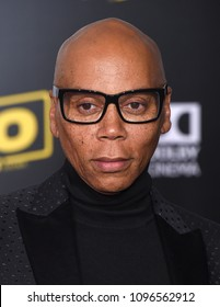 """LOS ANGELES - MAY 10:  RuPaul (Andre Charles) arrives to the """"Solo: A Star Wars Story"""" World Premiere  on May 10, 2018 in Hollywood, CA"""