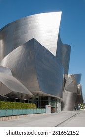 LOS ANGELES -May 10: Walt Disney Concert Hall in Los Angeles, CA. May 10 2015