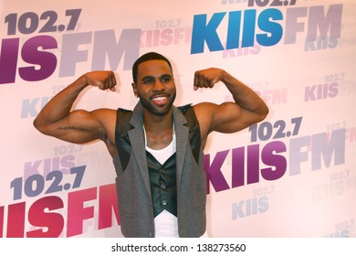 LOS ANGELES - MAY 11:  Jason Derulo arrives at the 2013 Wango Tango concert produced by KIIS-FM at the Home Depot Center on May 11, 2013 in Carson, CA