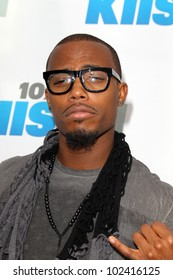 """LOS ANGELES - MAY 12:  B.o.B. arrives at the """"Wango Tango"""" Concert at The Home Depot Center on May 12, 2012 in Carson, CA"""