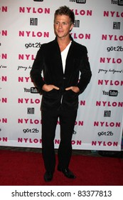 LOS ANGELES - MAY 12: Charlie Bewley at the Nylon Magazine Young Hollywood Party 2010 at the Hollywood Roosevelt Hotel in Los Angeles, California on May 12, 2010