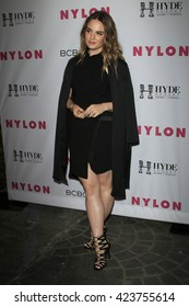 LOS ANGELES - MAY 12:  JoJo Levesque at the NYLON Young Hollywood May Issue Event at HYDE Sunset on May 12, 2016 in Los Angeles, CA