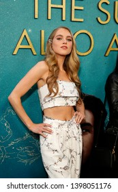 """LOS ANGELES - MAY 13:  Anne Winters at the """"The Sun Is Also A Star"""" World Premiere at the Pacific Theaters at the Grove on May 13, 2019 in Los Angeles, CA"""