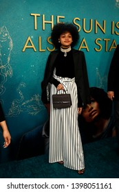 """LOS ANGELES - MAY 13:  Briana Roy at the """"The Sun Is Also A Star"""" World Premiere at the Pacific Theaters at the Grove on May 13, 2019 in Los Angeles, CA"""