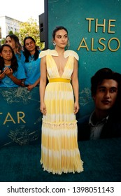 """LOS ANGELES - MAY 13:  Camila Mendes at the """"The Sun Is Also A Star"""" World Premiere at the Pacific Theaters at the Grove on May 13, 2019 in Los Angeles, CA"""