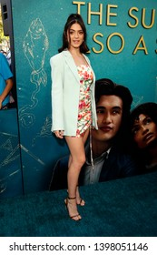 """LOS ANGELES - MAY 13:  Luna Blaise at the """"The Sun Is Also A Star"""" World Premiere at the Pacific Theaters at the Grove on May 13, 2019 in Los Angeles, CA"""