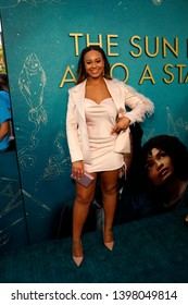 """LOS ANGELES - MAY 13:  Nia Sioux at the """"The Sun Is Also A Star"""" World Premiere at the Pacific Theaters at the Grove on May 13, 2019 in Los Angeles, CA"""