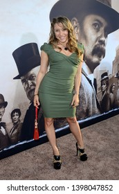 """LOS ANGELES - MAY 14:  Alexandra Vino at the """"Deadwood"""" HBO Premiere at the ArcLight Hollywood on May 14, 2019 in Los Angeles, CA"""