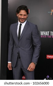 """LOS ANGELES - MAY 14:  Joe Manganiello arrives at the """"What To Expect When You're Expecting"""" Premiere at Graumans Chinese Theater on May 14, 2012 in Los Angeles, CA"""