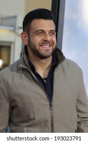 """LOS ANGELES - MAY 15:  Adam Richman at the """"A Million Ways To Die In The West"""" World Premiere at Village Theater on May 15, 2014 in Westwood, CA"""