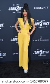 LOS ANGELES - MAY 15:  Bai Ling arrives for the John Wick: Chapter 3 - Parabellum' L.A. Special Screening on May 15, 2019 in Hollywood, CA