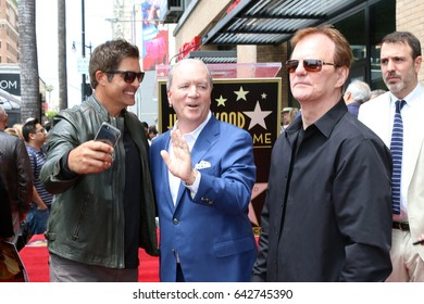 LOS ANGELES - MAY 15:  Galen Gering, Ken Corday, Josh Taylor at the Ken Corday Star Ceremony on the Hollywood Walk of Fame on May 15, 2017 in Los Angeles, CA
