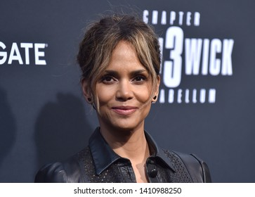 LOS ANGELES - MAY 15:  Halle Berry arrives for the John Wick: Chapter 3 - Parabellum' L.A. Special Screening on May 15, 2019 in Hollywood, CA