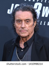 LOS ANGELES - MAY 15:  Ian McShane arrives for the John Wick: Chapter 3 - Parabellum' L.A. Special Screening on May 15, 2019 in Hollywood, CA