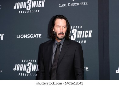 "LOS ANGELES - MAY 15:  Keanu Reeves at the ""John Wick Chapter 3 Parabellum"" Los Angeles Premiere at the TCL Chinese Theater IMAX on May 15, 2019 in Los Angeles, CA"