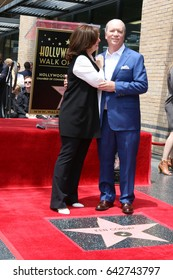 LOS ANGELES - MAY 15:  Sherry Corday, Ken Corday at the Ken Corday Star Ceremony on the Hollywood Walk of Fame on May 15, 2017 in Los Angeles, CA