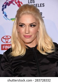 LOS ANGELES - MAY 16:  Gwen Stefani arrives to the An Evening With Women  on May 16, 2015 in Hollywood, CA