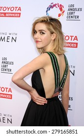 """LOS ANGELES - MAY 16:  Kiernan Shipka at the """"An Evening with Women"""" Benefitting LA LGBT Center at the Palladium on May 16, 2015 in Los Angeles, CA"""