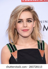 LOS ANGELES - MAY 16:  Kiernan Shipka arrives to the An Evening With Women  on May 16, 2015 in Hollywood, CA