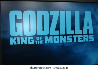 "LOS ANGELES - MAY 18:  Atmosphere at the ""Godzilla: King Of The Monsters"" Premiere at the TCL Chinese Theater IMAX on May 18, 2019 in Los Angeles, CA"