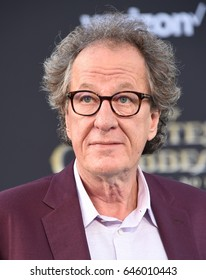 """LOS ANGELES - MAY 18:  Geoffrey Rush arrives for """"Pirates of the Caribbean: Dead Men Tell No Tales"""" US Premiere on May 18, 2017 in Hollywood, CA"""