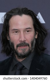 LOS ANGELES - MAY 18:  Keanu Reeves at the MOCA Benefit 2019 at the Geffen Contemporary at MOCA on May 18, 2019 in Los Angeles, CA