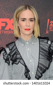 "LOS ANGELES - MAY 18:  Sarah Paulson at the ""American Horror Story: Apocalyse"" FYC Event at the NeueHouse on May 18, 2019 in Los Angeles, CA"