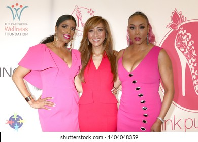 LOS ANGELES - MAY 19:  Areva Martin, Judy Ho, Vivica A Fox at the 11th Annual A Pink Pump Affair at the Beverly Hilton Hotel on May 19, 2019 in Beverly Hills, CA