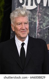 """LOS ANGELES - MAY 19:  David Lynch arrives for the premiere of """"Twin Peaks"""" on May 19, 2017 in Los Angeles, CA"""