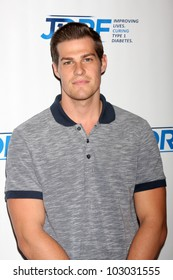 LOS ANGELES - MAY 19:  Greg Finley arrives at the JDRF's 9th Annual Gala at Century Plaza Hotel on May 19, 2012 in Century City, CA