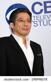 LOS ANGELES - MAY 19:  Hiroyuki Sanada at the CBS Summer Soiree at the London Hotel on May 19, 2014 in West Hollywood, CA