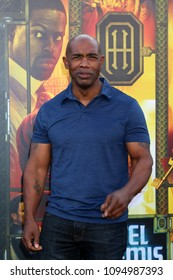 "LOS ANGELES - MAY 19:  Michael Beach at the ""Hotel Artemis"" Premiere at Bruin Theater on May 19, 2018 in Westwood, CA"